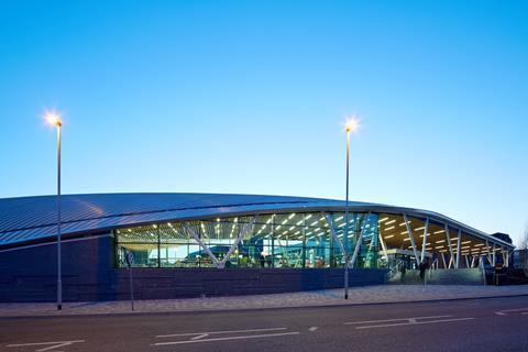 Stoke bus station